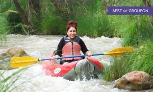 Sedona Adventure Tours // Verde Adventures: Inflatable Kayak Verde River Trip for Two, Four, or Six at Sedona Adventure Tours (Up to 45% Off)
