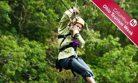 Zipline Adventure Package for 1 (a $119 value) - Hocking Peaks Adventure Park  Hocking Hills in Logan