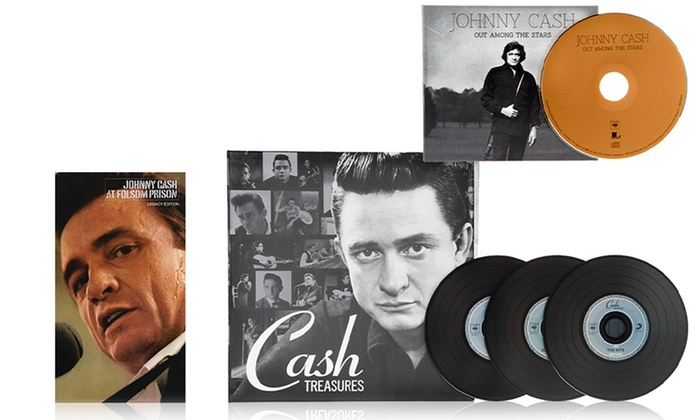 Johnny Cash CD and DVD Box Set: Johnny Cash CD and DVD Box Set, Including the Previously Unreleased Album Out Among the Stars
