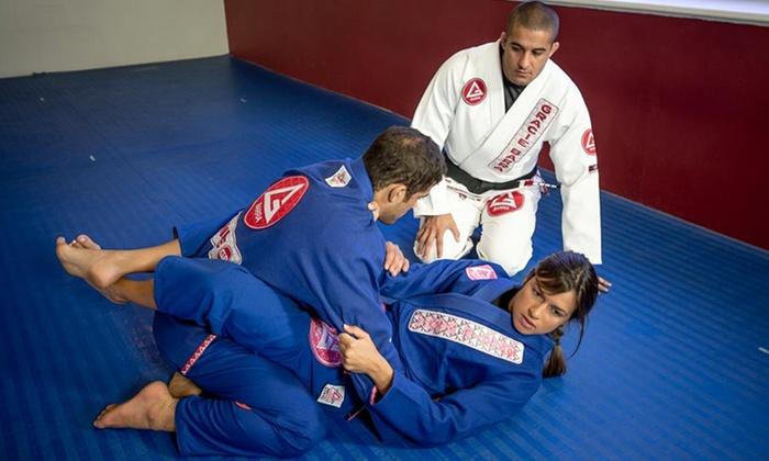 Gracie Barra Long Beach - Lakewood Village: Four Weeks of Unlimited Brazilian Jiu-Jitsu Classes for Kids or Adults at Gracie Barra Jiu-Jitsu Academy  (61% Off)