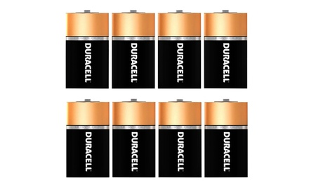 8-Pack of Duracell Size C CopperTop All-Purpose Alkaline Batteries with DuraLock Power Preserve Technology