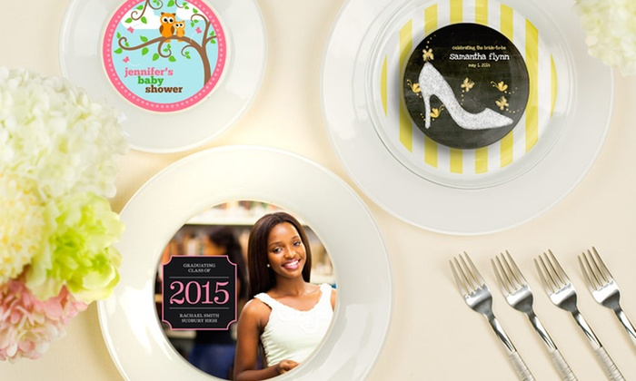 Create UR Plate: $19.99 for $40 Toward Personalized Dinnerware from Create UR Plate