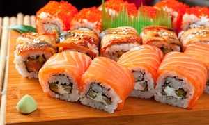 The Huguenot Restaurant: All You Can Eat Sushi for R159 for Two at the Huguenot Restaurant (50% Off)