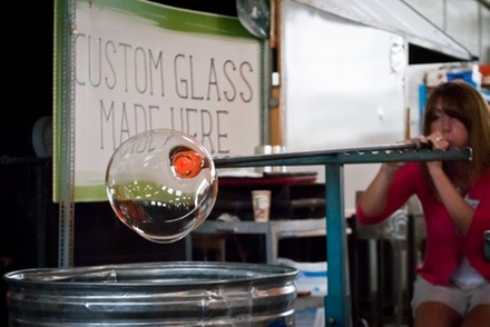 Weekday or Weekend Glassblowing Class at Glass Academy (Up to 51% Off)