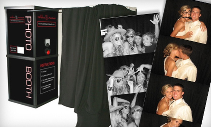 Fabulous PhotoBooth - Tampa Bay Area: $300 for a Four-Hour Photo-Booth Rental with DVD of Images from Fabulous PhotoBooth ($600 Value)