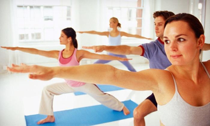Pilates & Yoga for Life - O'Fallon: 5- or 10-Week Once-Weekly Yoga Program at Pilates & Yoga for Life (Up to 74% Off)