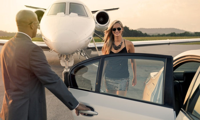 Riz Limo Service - Los Angeles: One-Way Airport Transportation from Riz Limo Service (51% Off)