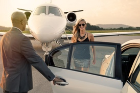 Riz Limo Service: One-Way Airport Transportation from Riz Limo Service (51% Off)