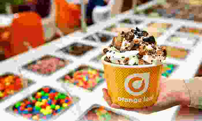 Orange Leaf Yogurt  - Val Vista Towne Center: $12 for Four Groupons, Each good for $6 Worth of Frozen Yogurt at Orange Leaf Yogurt ($24 Total Value)