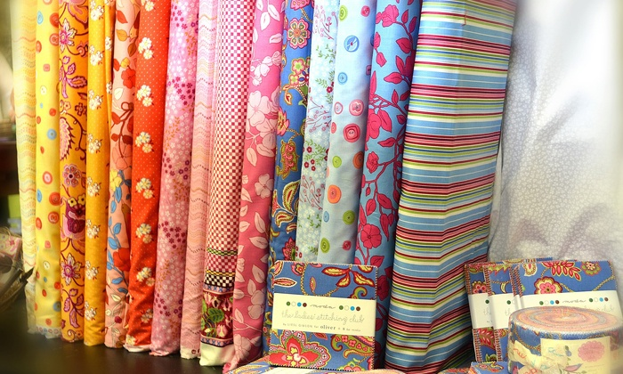 Mia's Fabric Café - Denham Springs: $20 for $40 Worth of Fabric at Mia's Fabric Café