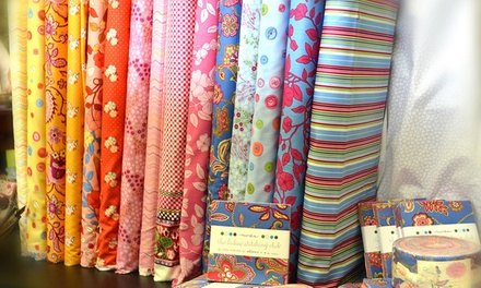 $20 for $40 Worth of Fabric at Mia's Fabric Café