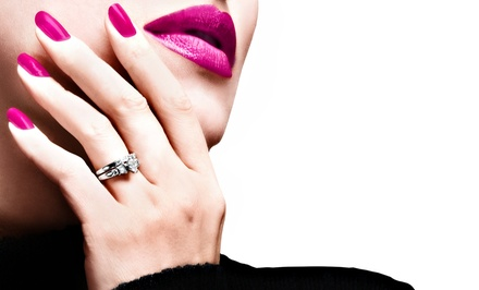 $37 for One Full Set of Gel Nails at Carolyne Esthetics and Hair Artistry ($75 Off)