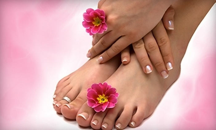 Serene Scene Morning Spa - Clayton: Princess Manicure and Spa Pedicure or Men's Kick Off Pedicure with Beer at Serene Scene Morning Spa (Up to 53% Off)