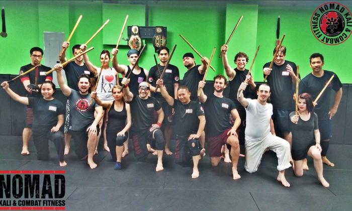 Nomad Kali & Combat Fitness - Mount Ivy: $44 for $125 Worth of Martial-Arts Lessons — Nomad Kali & Combat Fitness