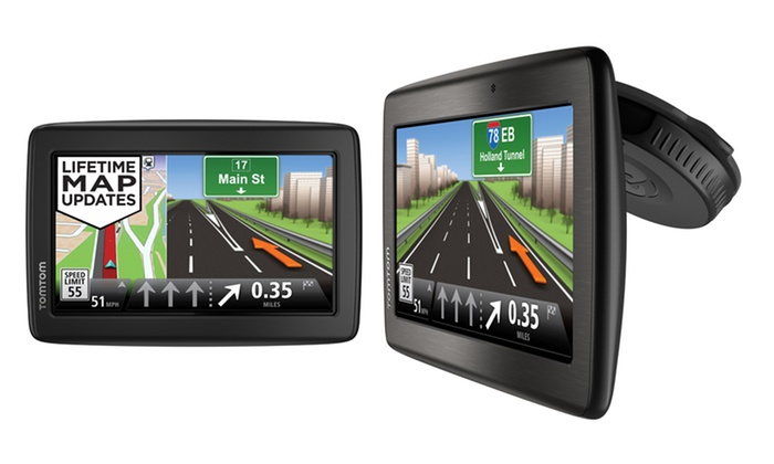 TomTom VIA Portable GPS Navigator: TomTom VIA Portable GPS (Manufacturer Refurbished).