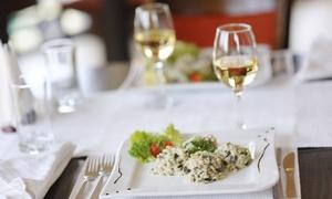OFFICINA DEL GUSTO: Menu vegetariano con calice di vino per 2 o 4 persone nel centro di Mestre da Officina del Gusto (sconto 53%)