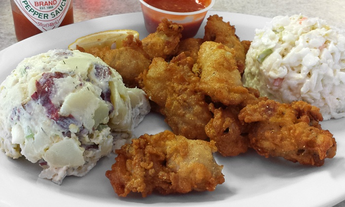 Bay Brothers Grill - Hendersonville: Seafood and Po' Boys at Bay Brothers Grill (44% Off). Two Options Available.