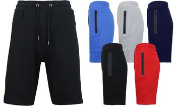Men's Tech Jogger Shorts with Zipper Side Pockets (S-2XL)