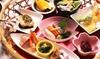彩り花籠御膳|北海道4店舗の「花ごころ」にて