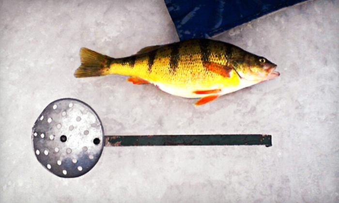 All American Fishing Charters - Green Bay: Full-Day Ice-Fishing Trip for Two, Four, or Six from All American Fishing Charters (Up to 54% Off)