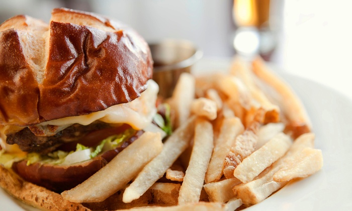 Live Oak Bar and Grill - Spring Branch East: Homestyle Pub Food at Live Oak Bar and Grill (Half Off). Two Options Available.
