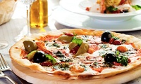 Pizza, Pasta, Risotto or Burger Meal with Side or Garlic Bread for Two or Four at Lucca Bar & Kitchen (Up to 49% Off)