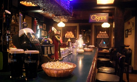 Domestic and Imported Drinks at Christian's Bar (50% Off)