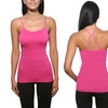 5-Pack of Adjustable Criss-Cross Back Camisoles