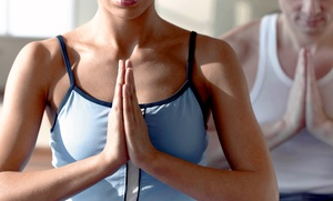 Bikram Yoga Sugar Land: Five Classes or Two Weeks of Unlimited Bikram Yoga at Bikram Yoga Sugar Land (Up to 74% Off)
