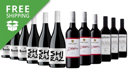 Free Shipping: $69 for Twelve Bottles of Shiraz Winter Mixed Wines (Dont Pay $189)