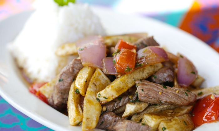 Qusqo - West Los Angeles: $20 for $35 Worth of Peruvian Dinner Cuisine for Two at Qusqo