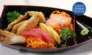 Fujiyama Teppanyaki Japanese: $20 for $40 to Spend on Food or $75 for a Banquet with Drinks for Two at Fujiyama Teppanyaki Japanese (Up to $152 Value)