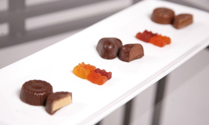 Inspiration Candies - Oak Park: Organic Vegan Chocolate and Gummy Candies at Inspiration Candies (50% Off). Two Options Available.