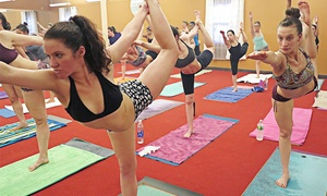 Supernova Yoga: 5, 10, or 15 Introductory Hot Yoga Classes at Supernova Yoga (Up to 65% Off)