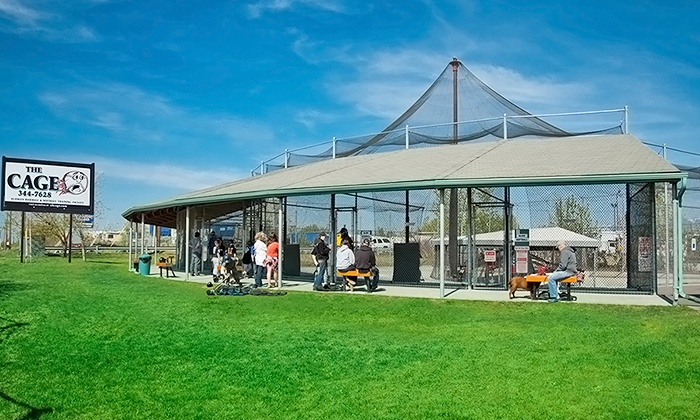 The Cage - Anchorage: $8 for $15 Toward Batting-Cage Tokens, or Party for Up to 10 (Up to 50% Off)