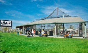 The Cage: $8 for $15 Toward Batting-Cage Tokens, or Party for Up to 10 (Up to 50% Off)