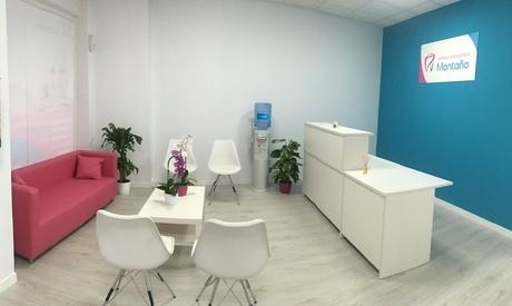 Limpieza dental completa con opción a curetaje de 1 o 2 arcadas desde 12,95 € en Centro Odontológico Montaño