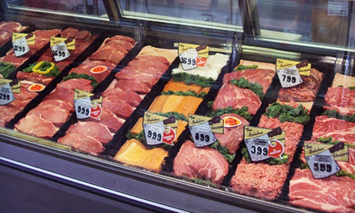 Hobe Meats - Camelback East: Freshly Cut Prime-Grade Beef, Pork, Chicken, and Sausages at Hobe Meats (Half Off). Three Options Available.