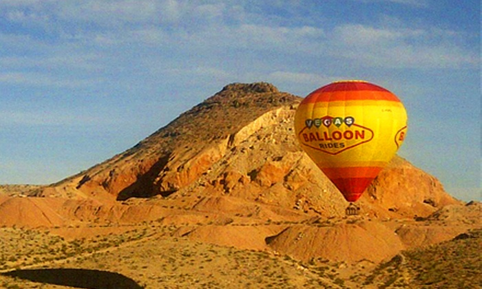 Vegas Balloon Rides - Las Vegas: Weekday or Weekend Sunrise Hot Air Balloon Ride for One or Two from Vegas Balloon Rides (Up to 49% Off)