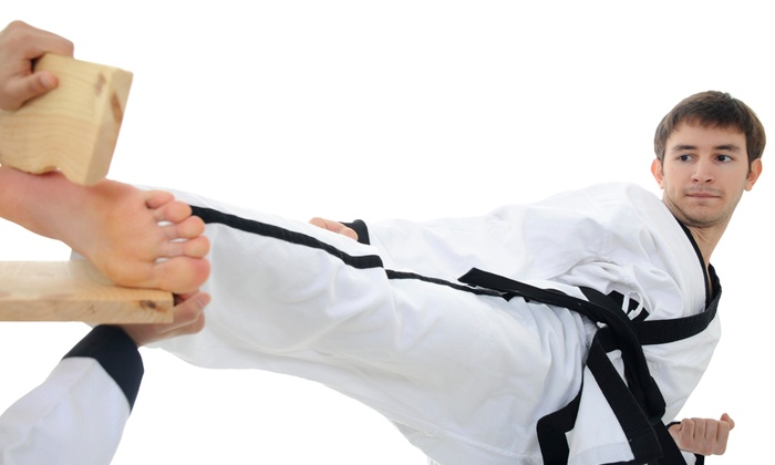 Taekwondo Academy of Bartlett - Ellendale: One Month or Two Weeks of Tae Kwon Do Classes with Uniform at Taekwondo Academy of Bartlett (Up to 74% Off)