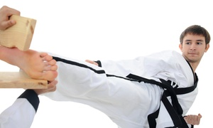 Taekwondo Academy of Bartlett: One Month or Two Weeks of Tae Kwon Do Classes with Uniform at Taekwondo Academy of Bartlett (Up to 74% Off)