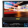 """Pyle Car Stereo Head Unit with 7"""" Motorized Retractable Touchscreen"""