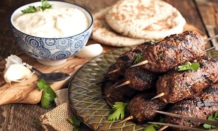 Mediterraanse mixed grill voor 26 personen bij Mozaik Mediterraanse Restaurant in Rotterdam Kralingen