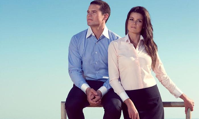 Groupon Goods: Custom Tailored Shirts from Tailors Mark
