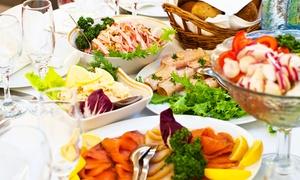 ASIN am Kollwitzplatz (Indian Cuisine): Brunch-Buffet All-you-can-eat mit Sekt am Wochenende für Zwei im Asin am Kollwitzplatz (Indian Cuisine) (39% sparen*)