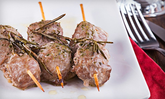 Athenian Greek Taverna - Commack: Greek Dinner for Two or Four with Appetizers, Entrees, and Wine at Athenian Greek Taverna (Up to 58% Off)