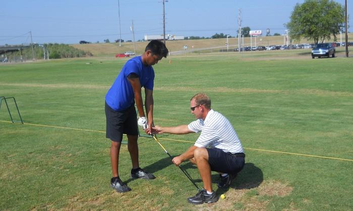 Pete Lockwood Golf Instruction - Broadmoor, Anderson Island, Shreve Isle: 5- or 10-Week Golf-Instruction Clinic from Pete Lockwood Golf Instruction (Up to 58% Off)