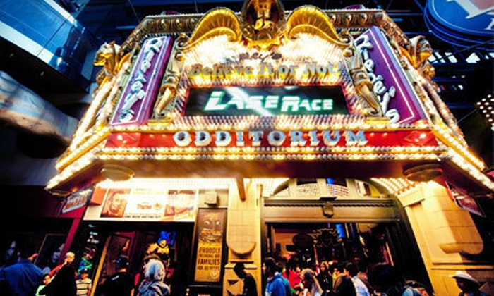 Ripley's Believe It or Not! Times Square - Theater District - Times Square: Museum Admission for One, Two, or Four to Ripley's Believe It or Not! Times Square (Up to 58% Off)