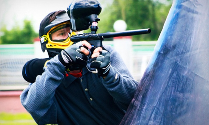 Paintball Club of Choctaw - Choctaw: Paintball Package with Rental Gear and Ammo for Two, Four, or Eight at Paintball Club of Choctaw (Up to 55% Off)