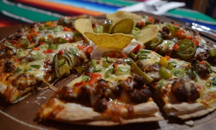 TwoCourse Early Evening Dinner for Two or Four at Arribas Mexican Restaurant